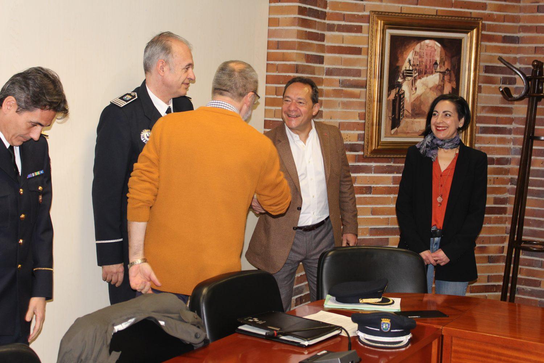 Foto de Archivo: Firma del convenio entre Policía Municipal de Madrid y la Plataforma del Tercer Sector dela Comunidad de Madrid
